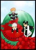 Bleach_ The Fruit Shinigamis by renealexa