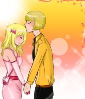 Request - Marise and Shinji by Kisse-san