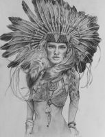 Headdress by lily-winter