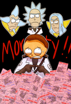Guard Morty in Trouble by Arkham-Insanity