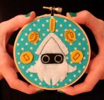 Blooper Hoop by loveandasandwich