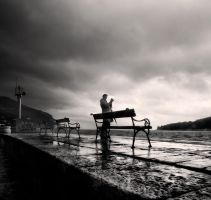 Karmen and benches... by denis2