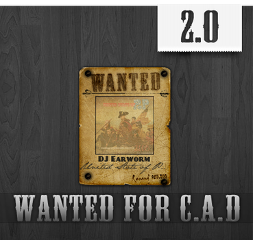 Wanted Poster For CAD by DigitalInstinct