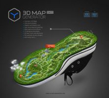 3D Map Generator GEO by templay-team