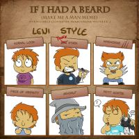 If I had a Beard by LeniProduction