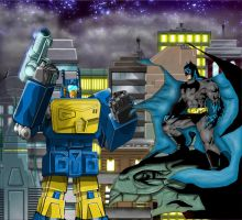 Nightbeat/Batman by Mr-Alexander