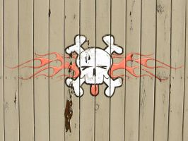 Jolly Roger Painted 1 by jbensch