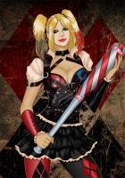 Harley Quinn By Deilson Colours by Highlander0423