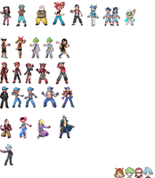 Pokemon ORAS Battle Sprites 0.3: Colors Updated by crueldude100