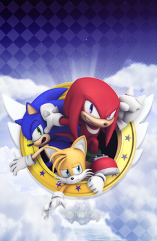 Official - Sonic Universe #87 Variant Cover by Elesis-Knight