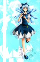 Happy Cirno day! by LohiAxel