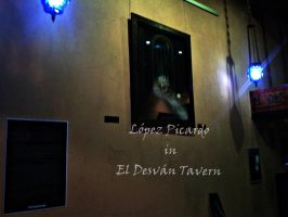 Exhibition in old tavern by LopezPicardo