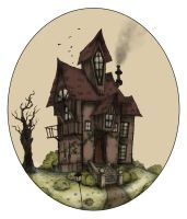 The House On The Misty Hill by LaraBerge