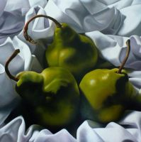 """Three Pears"" by Lillemut"