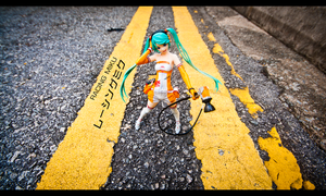 Yellow Lines by Kodomut