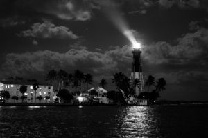 Beam of Light (B and W) by FavsCo