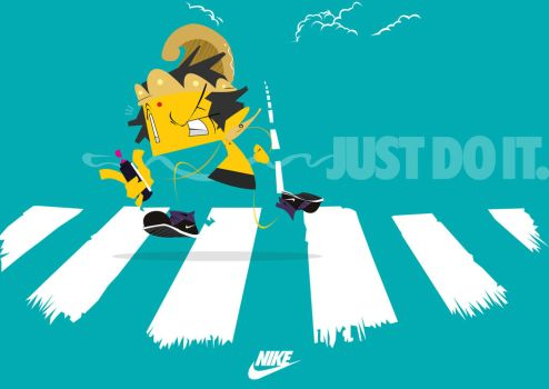 NIKE, Just do it. by mojoomonster