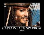 Captain Jack Sparrow by ikilledahollow4