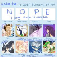 2014 Summary Of Art by Unko-to