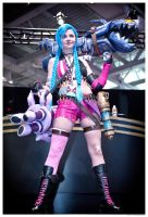 Jinx the Loose Cannon by JesmineCosplay