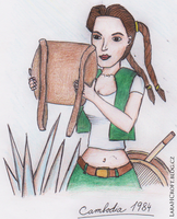 Young Lara Croft by Charlie-of-LHCblog