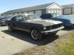 Ford Mustang Fastback Front Right Side View by TwistedXInnocence