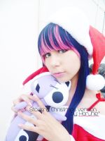 stocking christmas  cosplay by xeccentricity