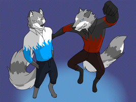 Wing Wolf - Shining 8 Father and Son (Part.I) by wingwolf88