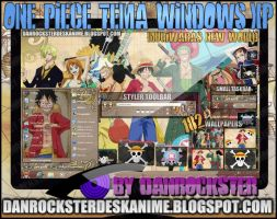 Mugiwaras New World Theme Windows XP by Danrockster