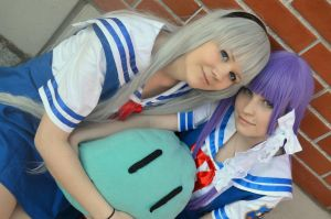 Friends (Clannad cosplay) by tutti-chan