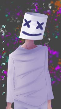 Marshmello by Kitozz