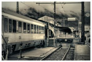 Trainspotting by Pajunen