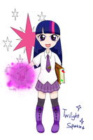 twilight sparkle gijinka_remake by hoyeechun
