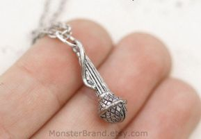 Microphone Necklace by MonsterBrandCrafts