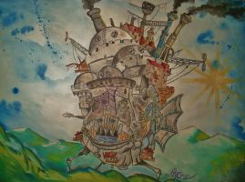 Howl's Moving Castle by DorianBasil