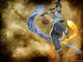 Avatar The Legend of Korra Wallpaper 2 by EclairDesigns