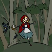 little red riding hood by hirokiro