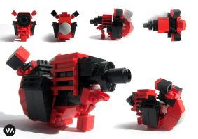 LEGO mini canon lll by IllOO