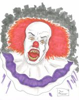 DSC - Pennywise the Clown - color by bujinkomix