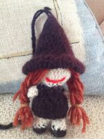 Witch Amigurumi by CataCata23