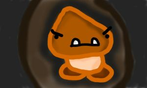 Goomba...what? by thegamingdrawer