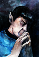 I miss you Spock by Traktorova