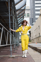 April O'neil in Center City by neoqueenhoneybee