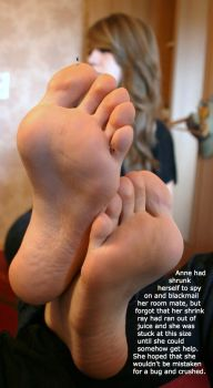 Stranded on Roommate's Soles by youranus32