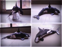 Orca toy - poses by Simba022