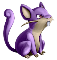 019_Rattata by Luunan