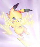 Pikachuuuuu by pinkfrilly