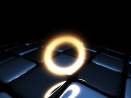 energy ring, checkered sphere by free-zero