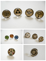 Nerdy Brooches by Kattvalk