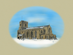 St Marys in Snow by ArkadyRose